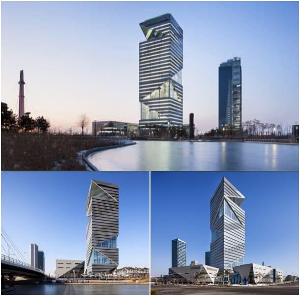 Torre G de Incheon Corea del Sur