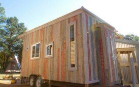 Wedgie: casa móvil y sostenible