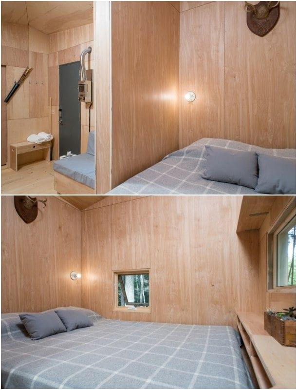 cama vivienda de madera Lorraine
