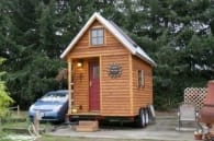 casa móvil madera Michelle Jones