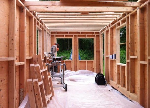 Tiny Tack House: cómo construir una casa diminuta