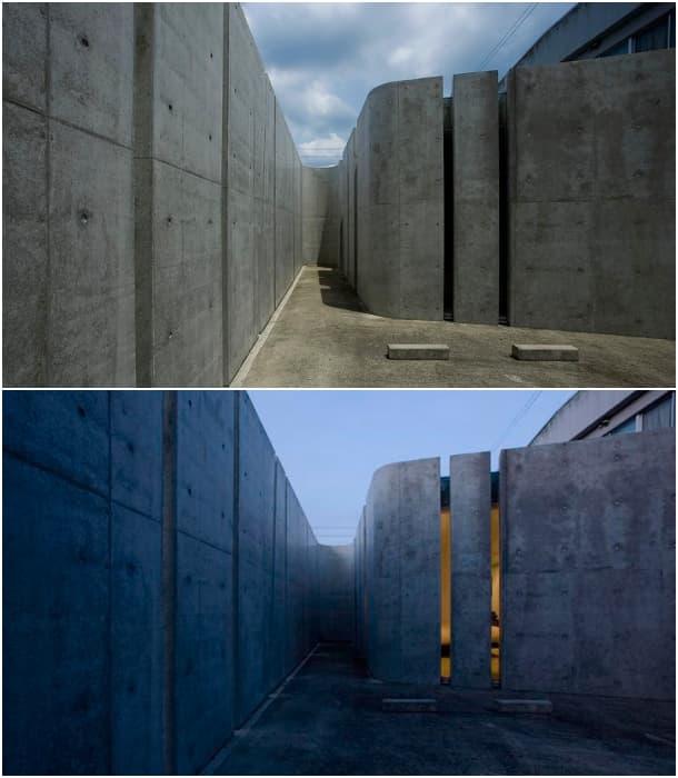 entrada taller Slit House
