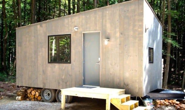 Lorraine: vivienda con interior de madera