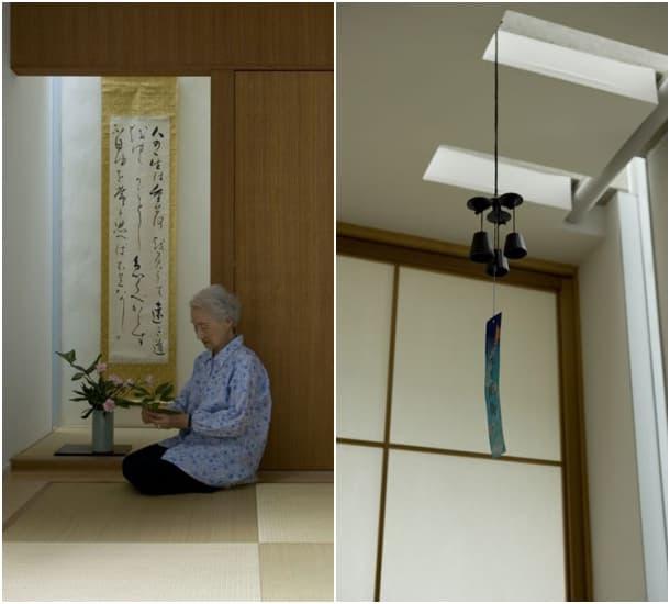 habitacion japonesa Slit House
