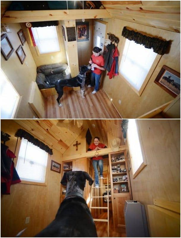 interior casa móvil Alicia Harris