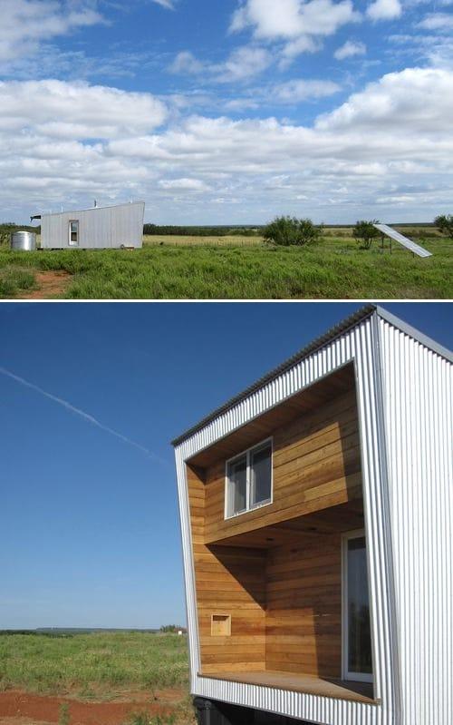 refugio prefabricado Sustainable Cabin