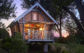 Alojamiento prefabricado de Broadhurst Architects
