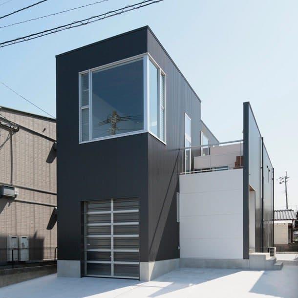 Casa Tokurikishinmachi fachada delantera