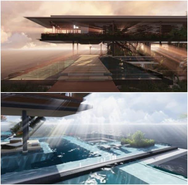Casa Xálima piscinas