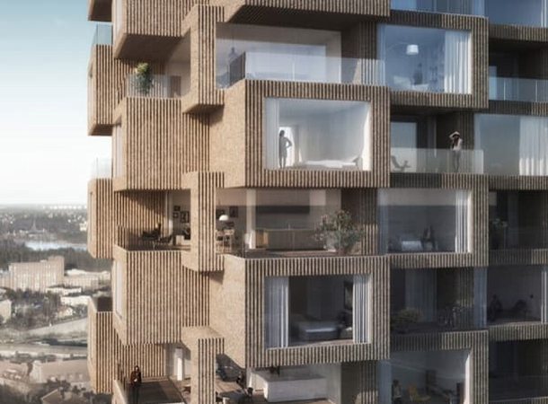 Torres residenciales para Estocolmo