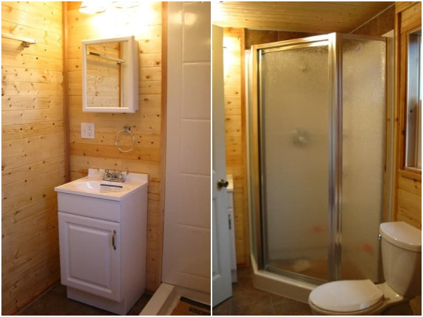 Pine Top - cuarto baño