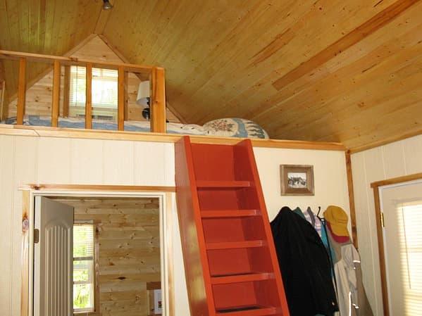 Pine Top: pequeña vivienda autoconstruida