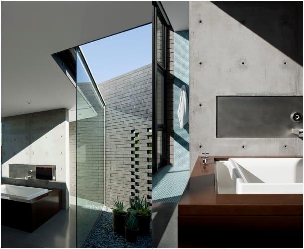 Residencia Yerger - cuarto baño suite