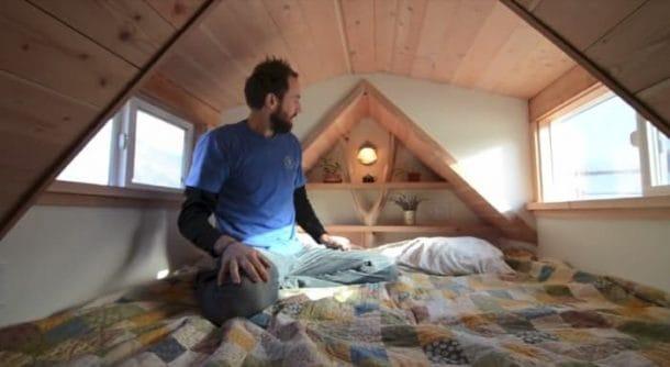 Seth Reidy en el dormitorio Casa Bellota