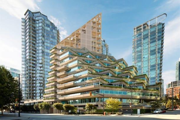 Edificio en altura de madera, para Vancouver