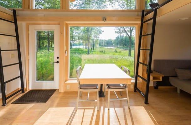 casa móvil Traveler interior