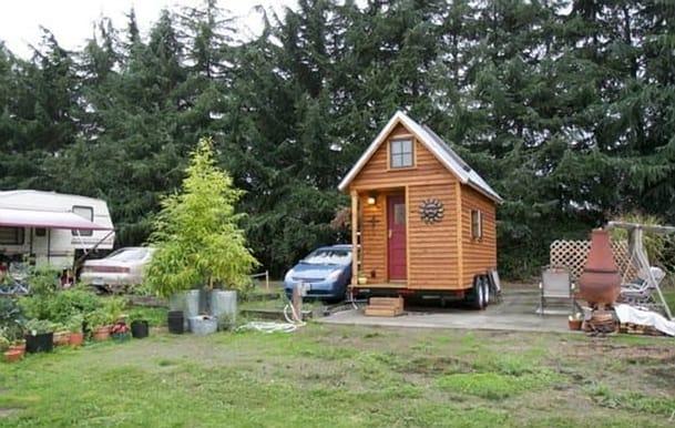 La pequeña casa de Michelle Jones