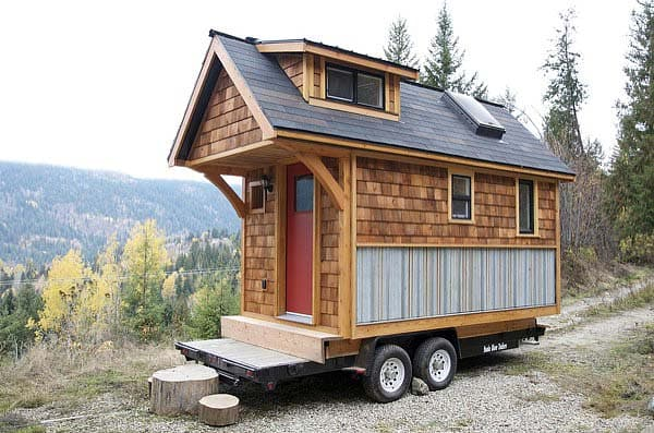 Una casa móvil diferente (Acorn House)