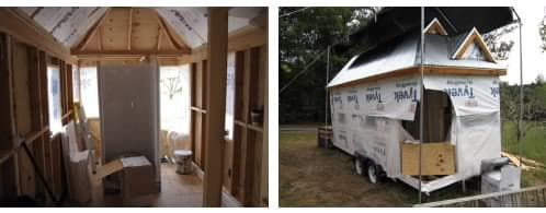cómo construir una mini casa