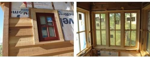 detalle construcción casa movil