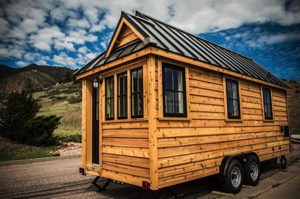 Tumbleweed: mini-casas de madera