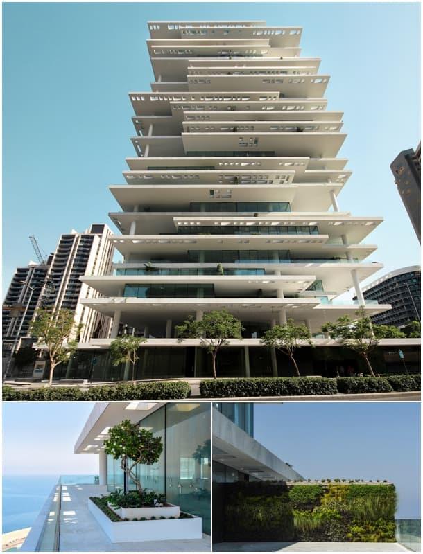 fachada apartamentos Beirut Terraces