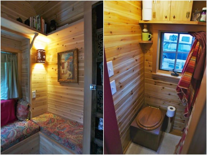 Casa m vil de madera construida sobre un remolque - Casas moviles madera ...