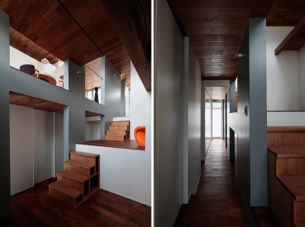 interior casa sin escalera en Tokurikishinmachi