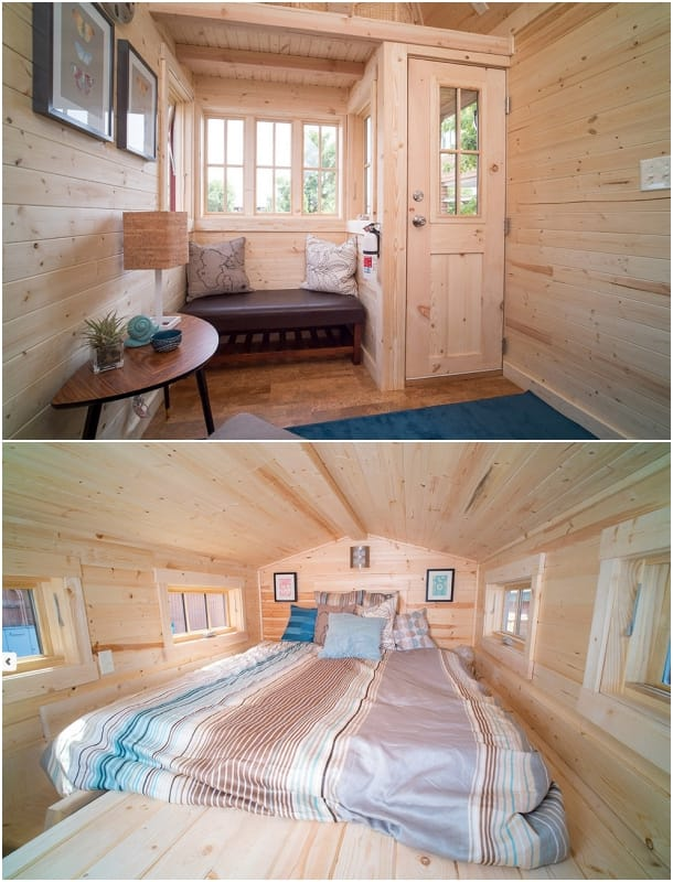 interior mini casa Tumbleweed