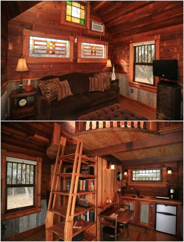 interior pequeña casa victoriana