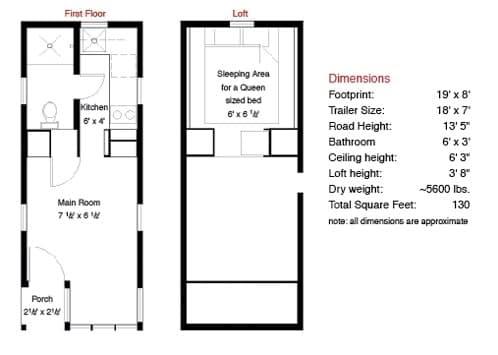 planos de tiny house fencl