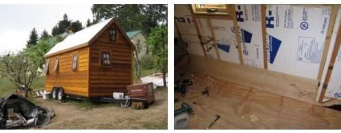 proceso constructivo casa de madera