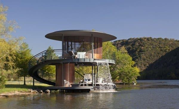 Refugio con embarcadero en el Lago Austin