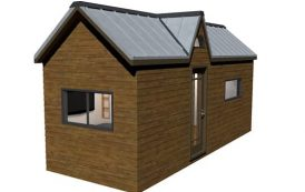 BRV1: pequeña vivienda de Humble Homes