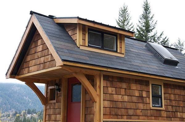 tejado casita Acorn House