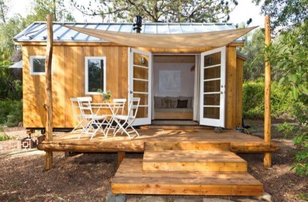 Pequeña vivienda sostenible, por $35.000