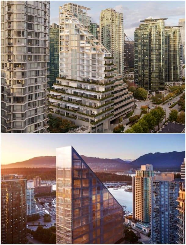 torre de madera Terrace House Vancouver