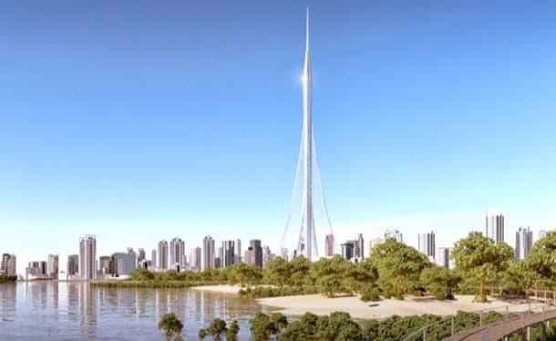 Torre de observación para Dubái, por Calatrava