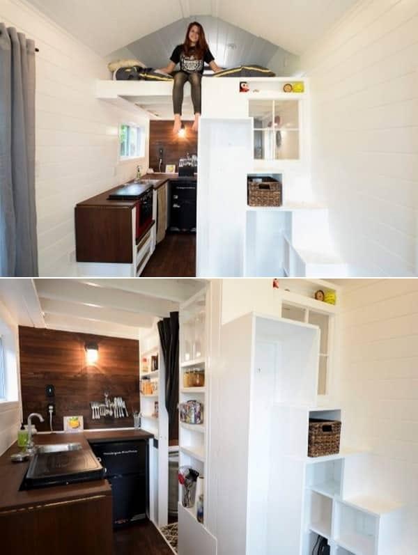 La Petite Maison mini casa por dentro