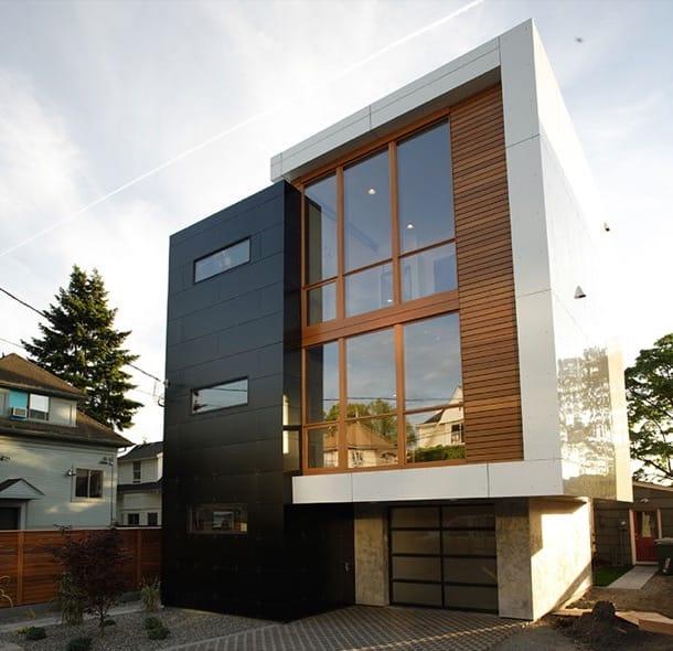 12th & john: casa de 3 plantas en Seattle