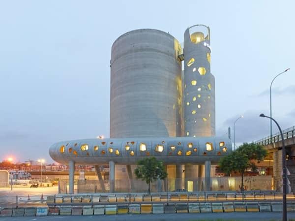 SILO 13: estructuras de hormigón con elementos prefabricados