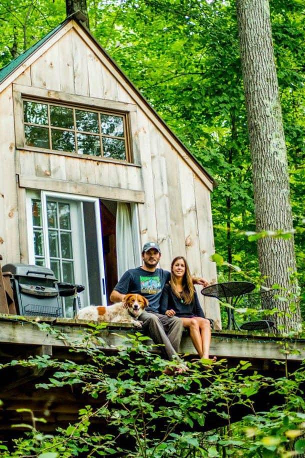 Wee House - Dave Herrie y esposa