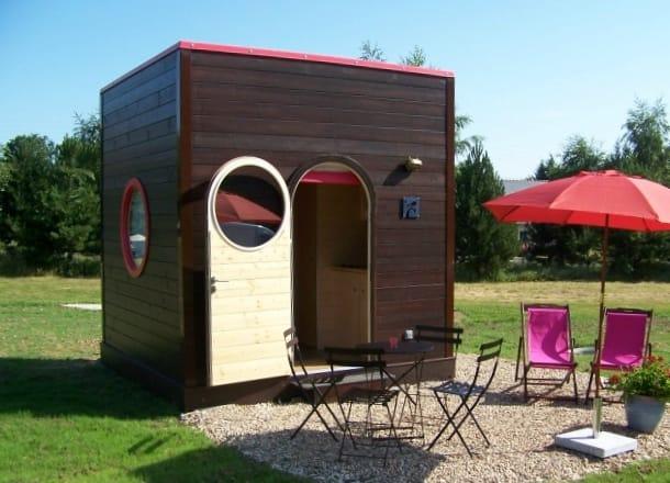 Refugio prefabricado de 3m3