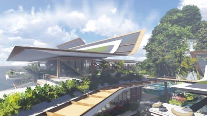 casa Water Pavilion Martin Ferrero cubiertas