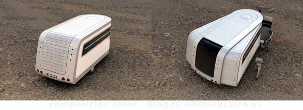 concepto caravana casa movil