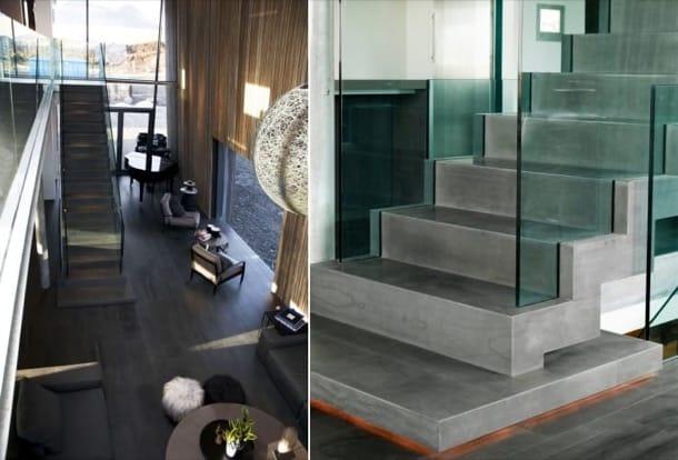 escalera de piedra islandesa Casa G
