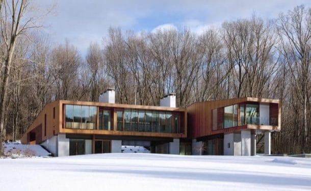 Bridge House: casa de lujo formando un puente