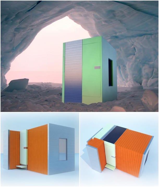 exteriores Arctic Mobile Unit - Andrey Bondarenko