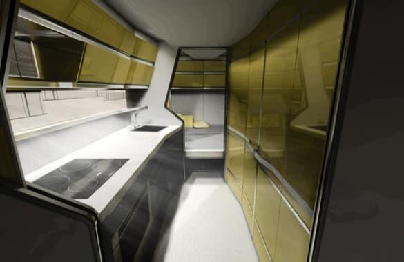 interior caravana Odorico Pordenone