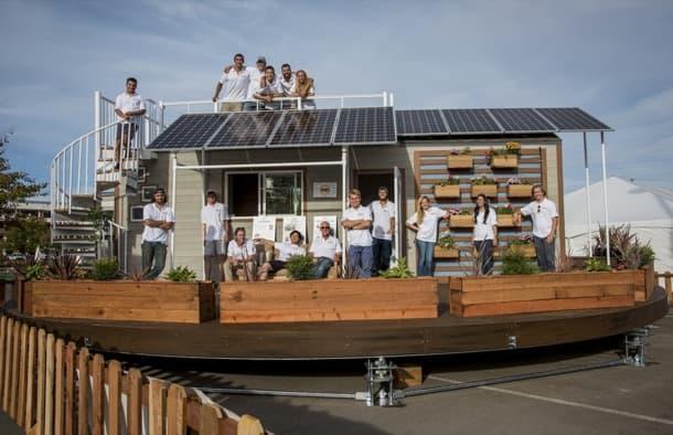 rEvolve: tiny house con seguimiento solar